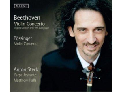 ANTON STECK  LARPA FESTANTE  MATTHEW HALLS - Violin Concerto (CD)