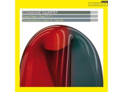 CONSONE QUARTET - Haydn / Opus 77 No. 1: Mendelssohn / Opus 12-81 (CD)