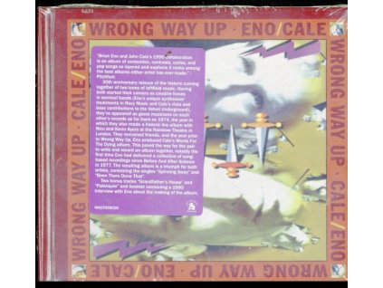 BRIAN ENO & JOHN CALE - Wrong Way Up (30th Anniversary Reissue) (Deluxe Edition) (CD)