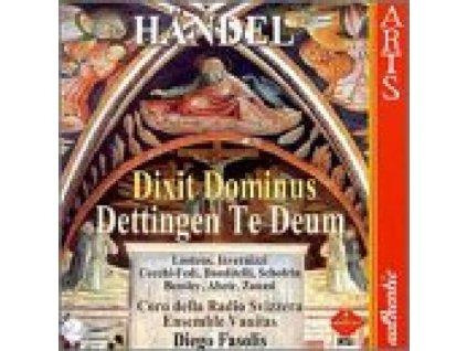 ENS VANITAS/FASOLIS - Handel/Dettingen Te (CD)