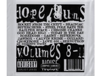 VARIOUS ARTISTS - Dope Guns & Fucking In The Streets: Vol. 8-11 (CD)