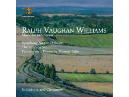 GOLDSTONE AND CLEMMOW - Ralph Vaughan Williams: Music For Two Pianos Including The Fifth Symphony (CD)