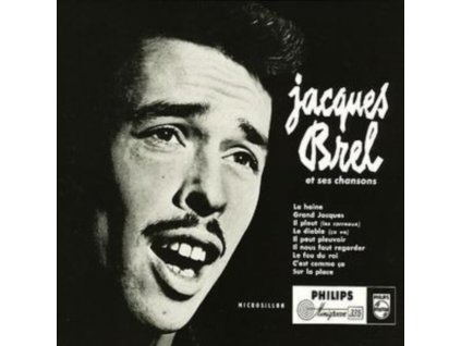 JACQUES BREL - Grand Jacques (CD)