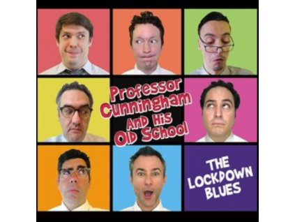 PROFESSOR CUNNINGHAM AND HIS OLD SCHOOL - The Lockdown Blues (CD)