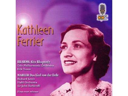 KATHLEEN FERRIER - Mahlerbrahms Das Lied Vonder Erde (CD)