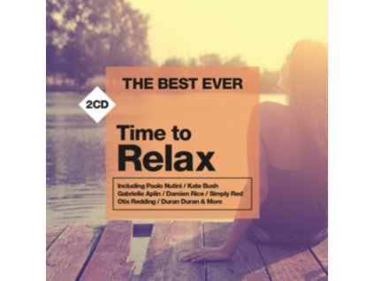 Various Artists - THE BEST EVER Time to Relax (Music CD)