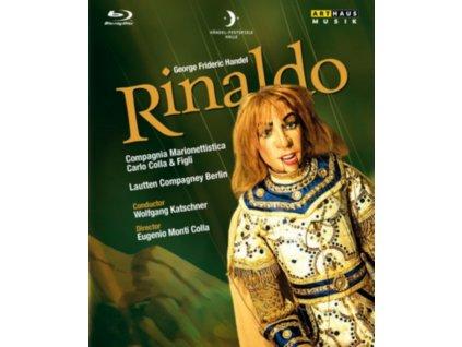VARIOUS ARTISTS - Handel / Rinaldo (CD + Blu-ray)