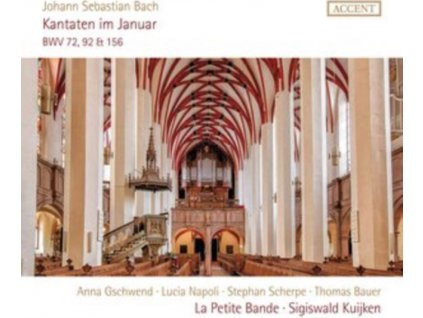 SOLOISTS / LA PETITE BAND / SIGISWALD KUIJKEN - J.S. Bach: Cantatas Bwv 72. 92 & 156 (CD)