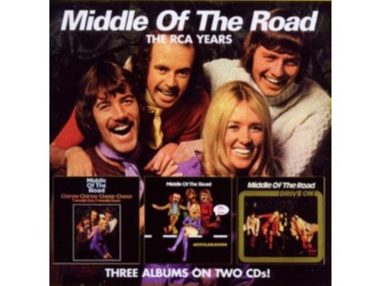 MIDDLE OF THE ROAD - Chirpy Chirpy Cheep Cheep - Acceleration / Drive On (CD)