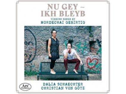 DALIA SCHAECHTER / CHRISTIAN VON GOTZ - Yiddish Songs By Mordechai Gebirtig (CD)