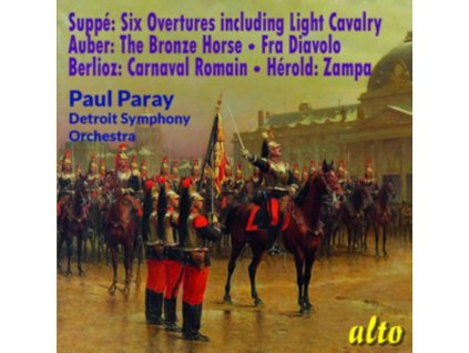 PAUL PARAY / DETROIT S.O - Suppe & Fav French Overtures (CD)