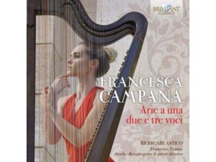 RICERCARE ANTICO / FRANCESCO TO - Campana Arie A Una. Due E Tre (CD)