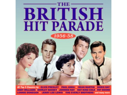 VARIOUS ARTISTS - The British Hit Parade 1956-58 (CD)