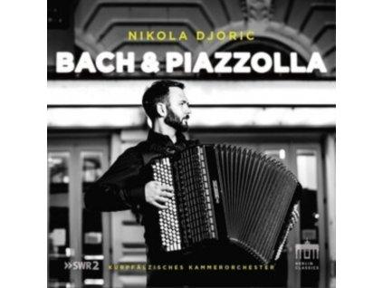 NIKOLA DJORIC - Bach & Piazzolla: Music By J.S. Bach & Astor Piazzolla (CD)