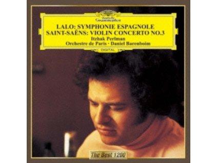 ITZHAK PERLMAN - Lalo: Symphonie Espagnole / Saens: Violin Concerto No.3 (CD)