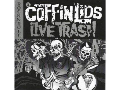 COFFIN LIDS - Live Trash (CD)