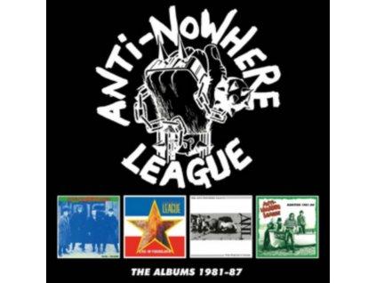 ANTI-NOWHERE LEAGUE - The Albums 1981-87 (CD)