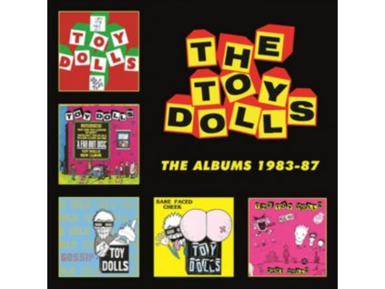 TOY DOLLS - The Albums 1983-87 (CD)