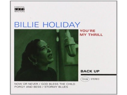 BILLIE HOLIDAY - YouRe My Thrill (CD)