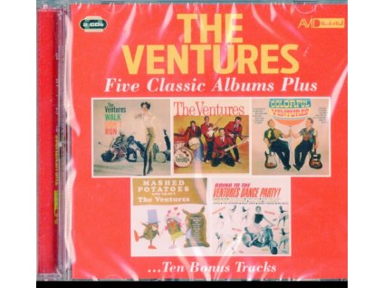 VENTURES - Five Classic Albums Plus (CD)