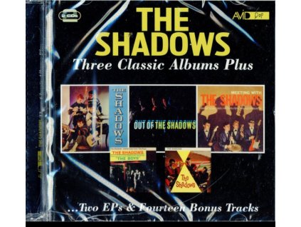 SHADOWS - Three Classic Albums Plus (CD)