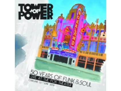 TOWER OF POWER - 50 Years Of Funk & Soul: Live At The Fox Theater - Oakland. Ca - June 2018 (CD + DVD)