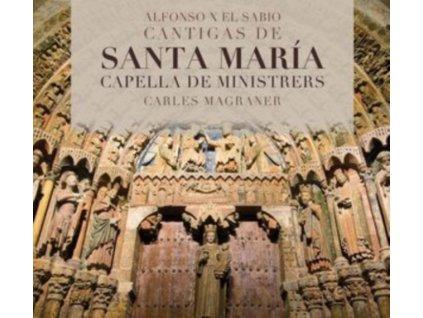 CAPELLA DE MINISTRERS / CARLES MAGRANER - Alfonso X El Sabio: Cantigas De Santa Maria (CD)