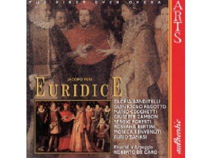 ENSEMBLE ARPEGGIO/CARO - Peri/Euridice (CD)