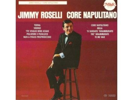 JIMMY ROSELLI - Core Napoliotano (CD)