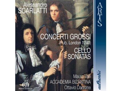 VALLI / ACCADEMIA BIZANTINA - Scarlatti/Concerti Grossi (SACD)