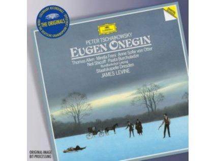 STAATSKAPELLE DRESDEN JAMES LEVINE - Tchaikovsky: Eugene Onegin. Op.24 / Act 1-3 (CD)