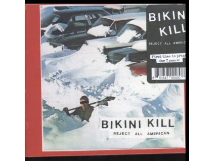 BIKINI KILL - Reject All American (CD)