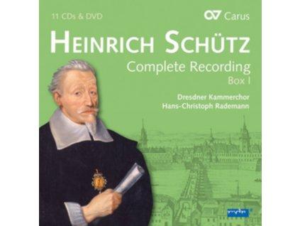 HEINRICH SCHUTZ - Die Gesamteinspeilung - Box 1 (11Cd & Dvd) (CD Box Set)