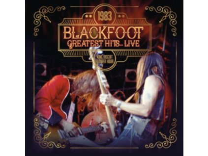 BLACKFOOT - 1983 Greatest Hits... Live (CDR)