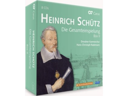 HEINRICH SCHUTZ - Die Gesamteinspielung Box Ii (CD Box Set)