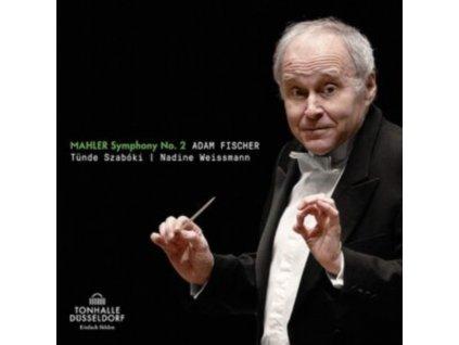 DUSSELDORFER SYMPHONIKER & ADAM FISCHER - Mahler: Symphony No. 2 (CD)