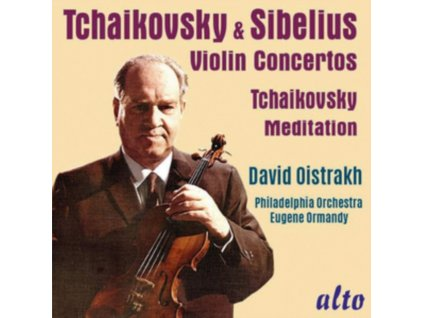 DAVID OISTRAKH - Tchaikovsky & Sibelius Violin Concs & Meditation From souvenir (CD)
