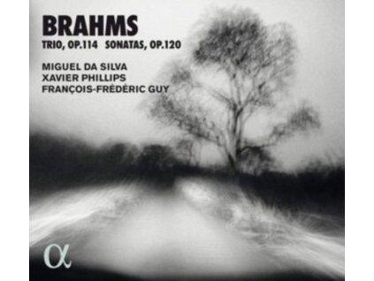 MIGUEL DA SILVA / XAVIER PHILLIPS / FRANCOIS-FREDERIC GUY - Brahms: Trio. Op. 114 & Sonatas. Op. 120 (CD)