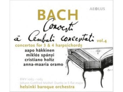 SOLOISTS / HELSINKI BAROQUE ORCHESTRA - J.S. Bach: Concerti A Cembali Concertati (SACD)