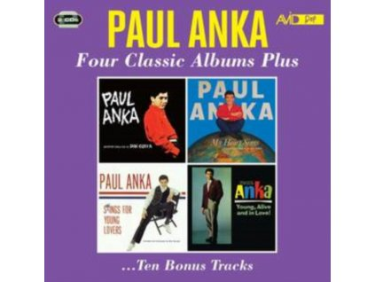 PAUL ANKA - Four Classic Albums Plus (CD)