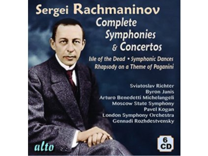 ROZHDESTVENSKY / KOGAN / SLATKIN / RICHTER / JANIS - Rachmaninov Complete Symphonies & Concertos Plus Isle Dead / Rhapsody / Bells (CD)