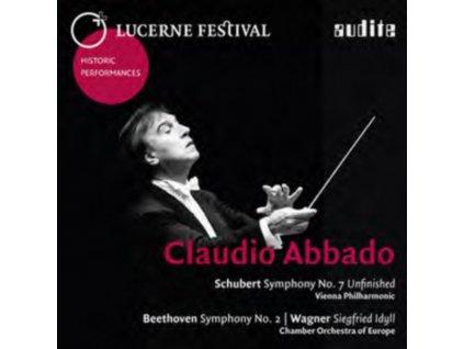 SCHUBERT / BEETHOVEN / WAGNER - Claudio Abbado Conducts (Schubert. Beethoven. Wagner) (CD)