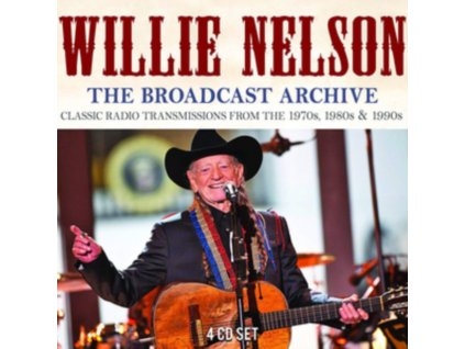 WILLIE NELSON - The Broadcast Archive (CD)