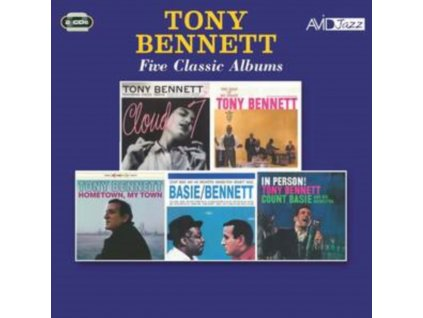 TONY BENNETT - Five Classic Albums (CD)