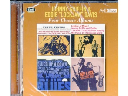JOHNNY GRIFFIN & EDDIE LOCKJAW DAVIS - Four Classic Albums (Tough Tenors / Lookin At Monk / Blues Up And Down / Griff & Lock) (CD)