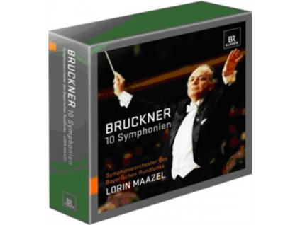 BRLORIN MAAZEL - Bruckner10 Symphonies Box (CD Box Set)
