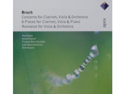 MEYER/CAUSSE/DUCHABLE/LYON ORC - Bruch/Concerto For Clarinet Viola & Orc (CD)