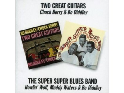 CHUCK BERRY - Two Great Guitars/ Super Super Blues Band (CD)