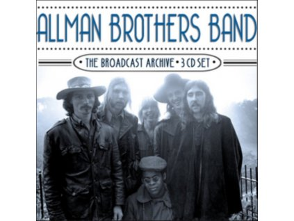 ALLMAN BROTHERS BAND - The Broadcast Archive (CD)