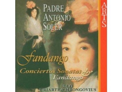 URIARTE / MRONGOVIUS - Soler/Fandango (CD)